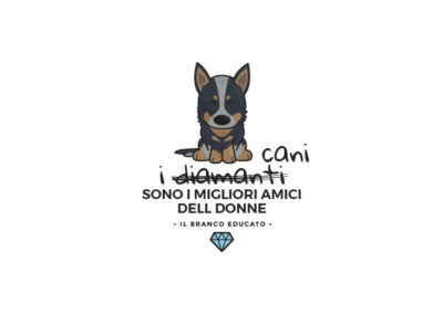 Design cani e diamanti